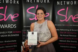 Steph Doyle - Business of the Year (50% female workforce)