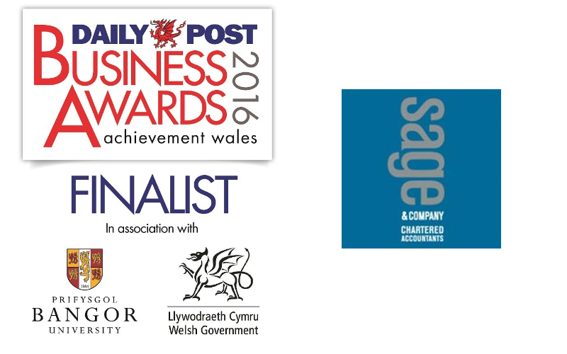 IT ALL ADDS UP FOR SAGE & COMPANY - FINALIST FOR PRESTIGIOUS BUSINESS AWARD
