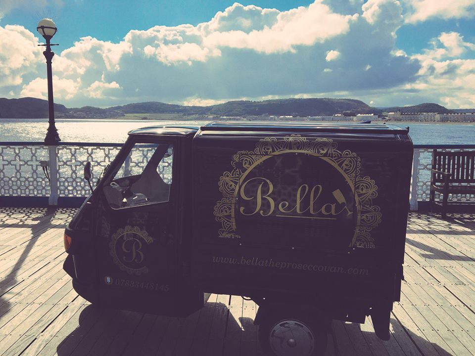 Bella the Prosecco Van and BB's Bar