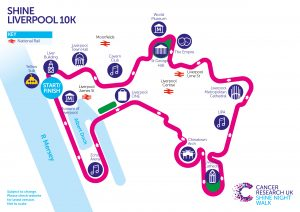 Shine to Beat Cancer with Network She and Cancer research UK