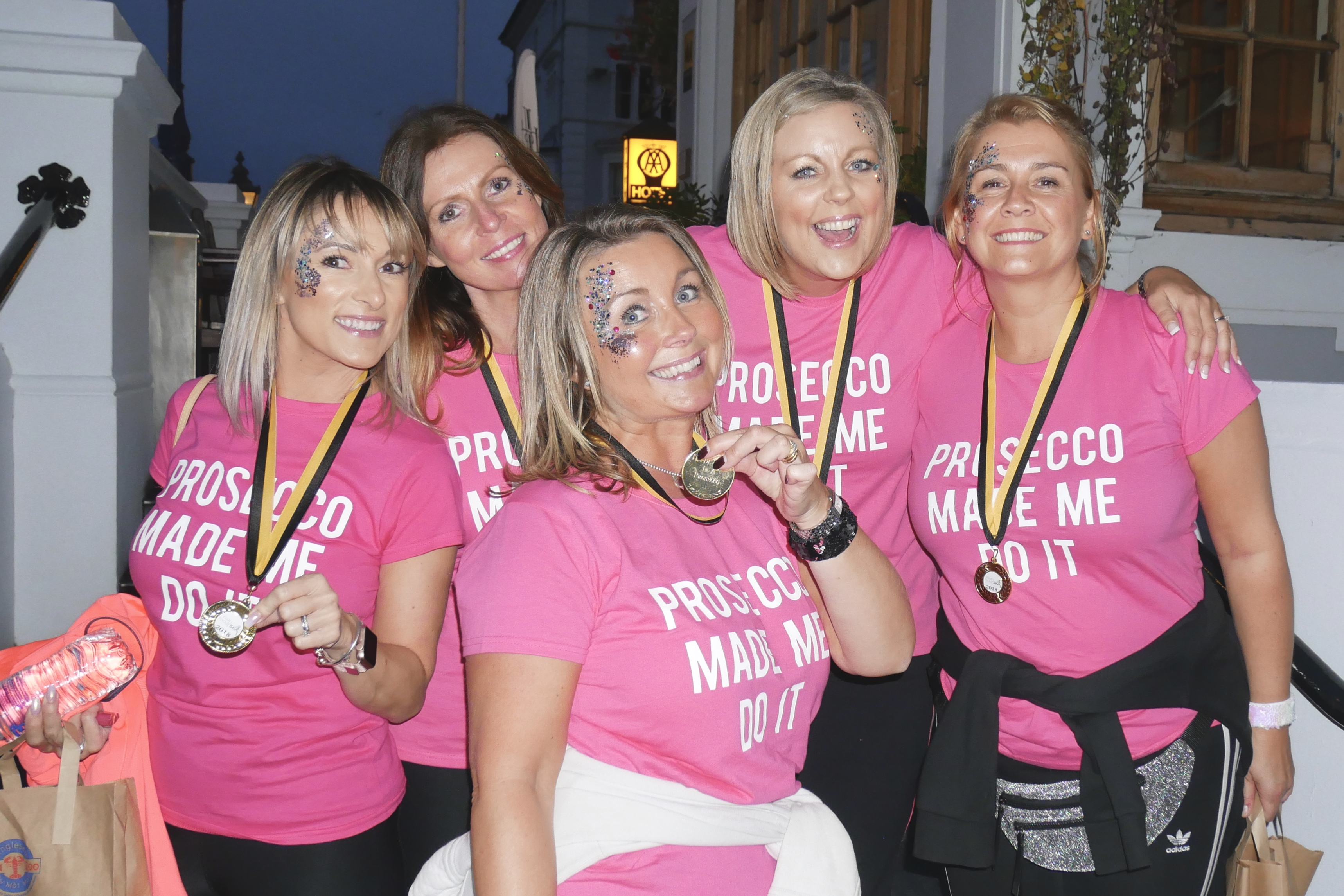 Fizzy Friday 5k - Network She Foundation Charity with Bella The Prosecco Van