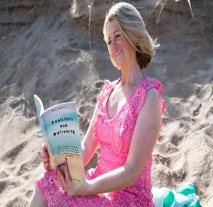 Pauline Ronan on the Beach