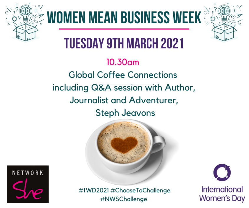 Coffee COnnections Goes Global with Network She