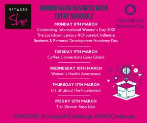 NWS International Women's Week