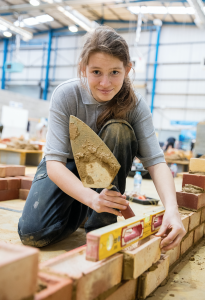 Bricklaying Apprentice Naomi Hamilton for National Apprentice Week Network She