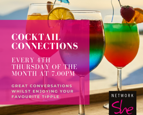 Cocktail Connections with Network She
