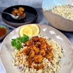 pan-seared-scallops-with-herbed-cauliflower-rice
